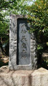 新小岩香取神社 小松菜