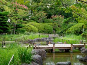 行船公園 日本庭園