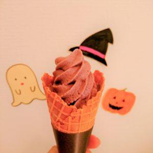 ソフトクリーム,紫芋,紫いも